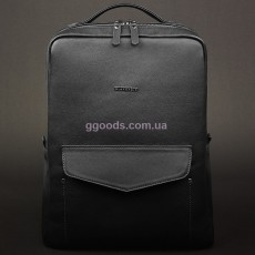 Кожаный рюкзак Нуар