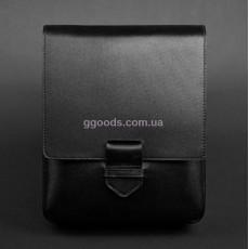 Мужская сумка-мессенджер Компакт черная