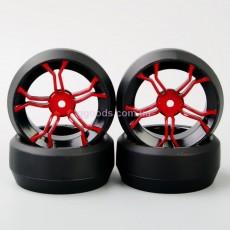 Колеса для дрифт моделей красные 12 hex