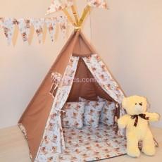 Детский шатер-вигвам Мишки