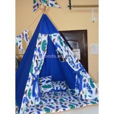 Детский домик Перья