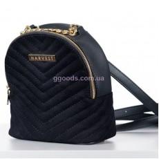 Сумка-рюкзак замшевая