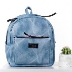 Женский рюкзак Mini джинс