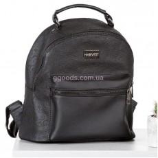 Женский рюкзак Mini черный с перфорацией