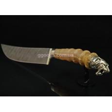 Нож из дамасской стали Тигр