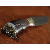 Нож Пират из дамасской стали