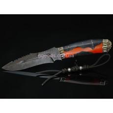 Нож Призрачный гонщик дамасская сталь