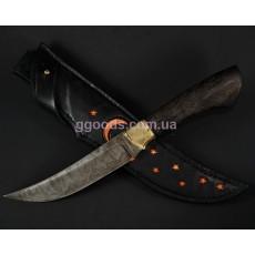 Нож Восточный дамасская сталь