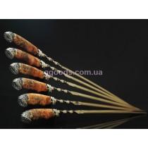 Набор шампуров Козырь