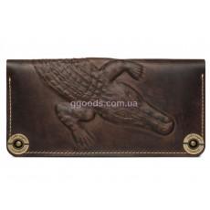 Кожаный кошелек Alligator