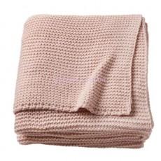Плед Игабритта бледно-розовый