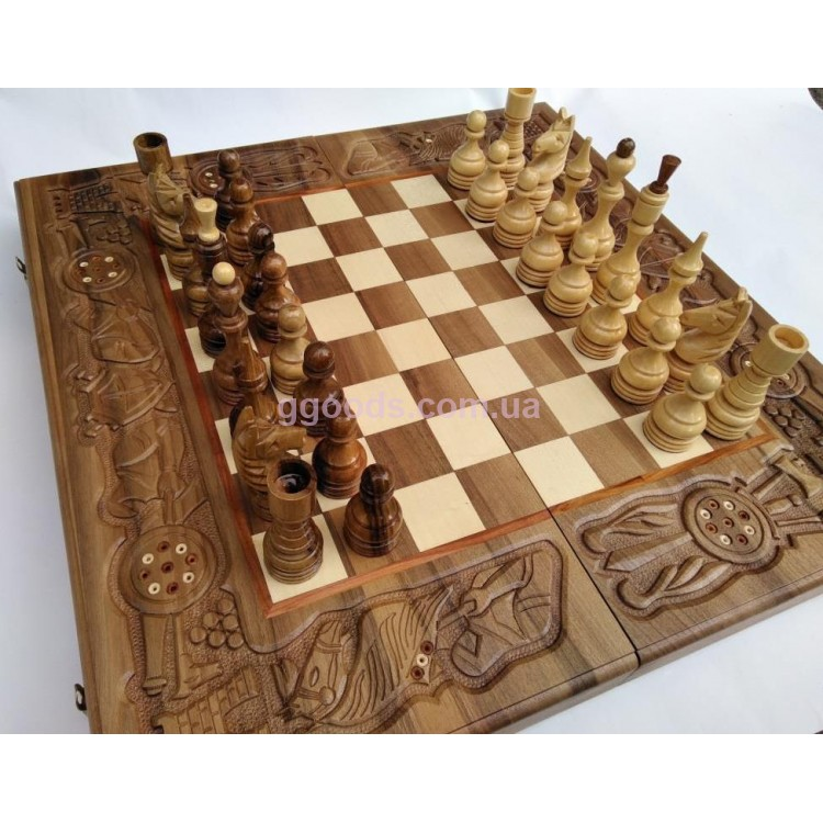 купить шахматы резные из дерева нарды шахматы на подарок полтава