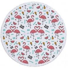 Коврик для пляжа Саммер фламинго