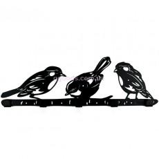 Настенная вешалка Birds