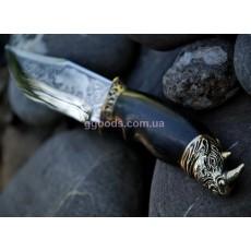 Нож ручной работы Носорог