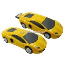Флешка Lamborghini красный, желтый, черный, белый