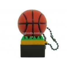 Флешка Мяч баскетбольный на траве