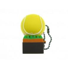 Флешка Теннисный мяч на траве