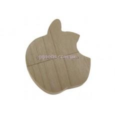 Флешка Apple деревянная