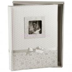 Свадебный фотоальбом Silvia со страницами цвета бордо (60 стр.)