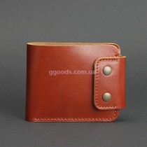 Кожаный кошелёк Zeus Коньяк 9.0