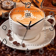 Настенные часы кофе Капучино