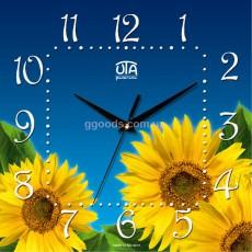 Настенные часы Подсолнухи