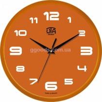 Настенные часы оранжевые