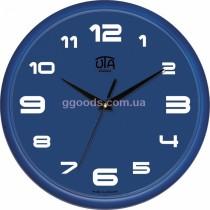 Часы настенные для офиса и дома синие