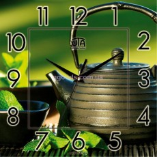 Настенные часы Чай и мята