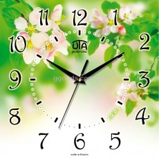Настенные часы Цветение яблони 2