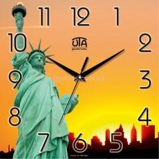 Настенные часы Статуя Свободы