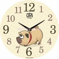 Настенные часы Мопс