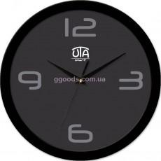 Настенные часы Сhic, черный обод