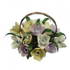 Букет из конфет Весенние цветы