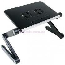 Столик для ноутбука T4 черный