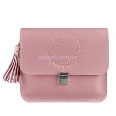 Сумка кросс-боди розовая