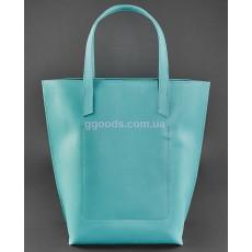 Кожаная сумка шоппер D.D. Тиффани