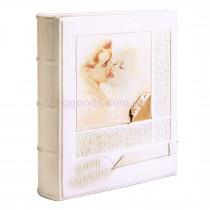 Кожаный свадебный фотоальбом Love Story