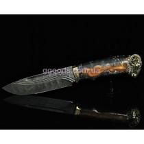 Нож Овен дамасская сталь