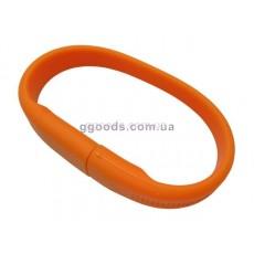 Флешка Браслет оранжевый фигурный