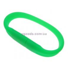 Флешка Браслет зеленый фигурный