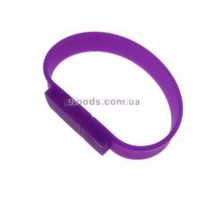 Флешка фиолетовый Браслет прямоугольный