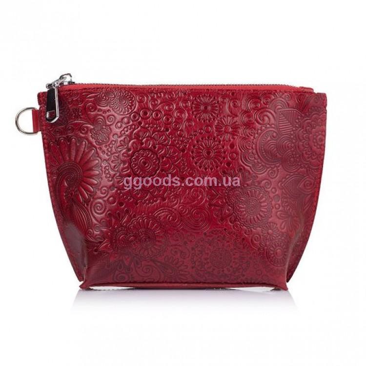 Женские кожаные косметички купить Киев, Мариуполь, Херсон ... f2ad957d45c