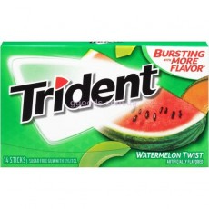 Trident gum арбуз-дыня