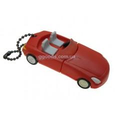 Флешка Кабриолет автомобиль красная