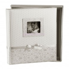 Фотоальбом Silvia Silver со страницами черного цвета (100 стр.)