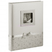 Альбом Silvia Silver 100 страниц бордового цвета