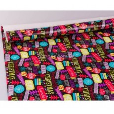 Упаковочная бумага для подарков на Новый год Лайт 2м