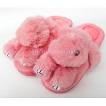 Тапки Зайцы розовые 38-39